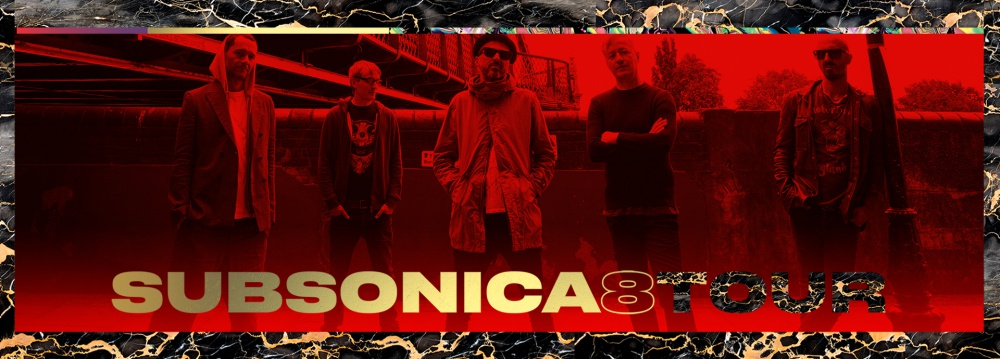 """SUBSONICA - """"8 TOUR"""""""